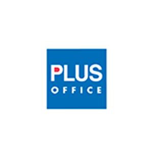 Logo de la marca Plus Office