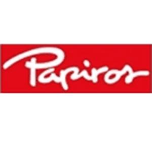 Logo de la marca Papiros