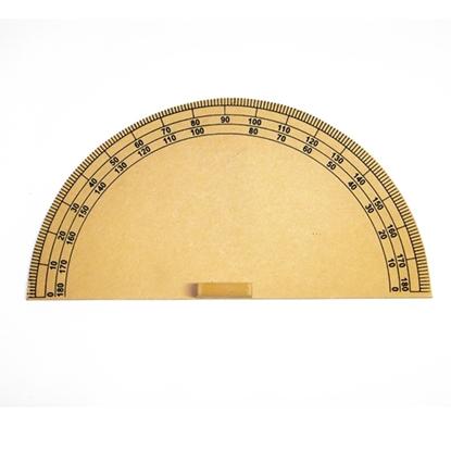 Imagen de Semicirculo madera gde para pizarrón