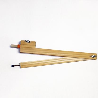Imagen de Compas madera gde para pizarron