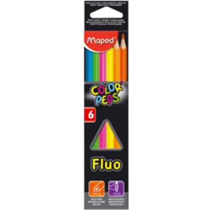 Imagen de Color maped peps flúo x 6