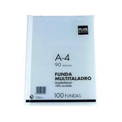 Imagen de Funda Plus Office A4 90 micras x100