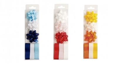 Imagen de Cocardas set 3 unidades grades +3 cintas