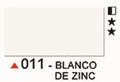 Imagen de Acrilico decorativo ad 60ml 011 Blanco de Zinc