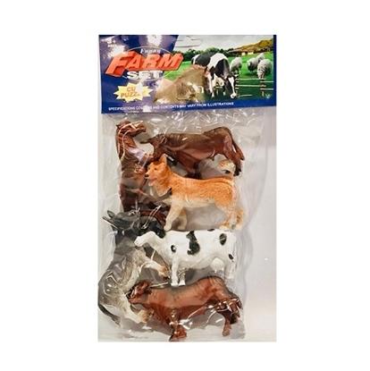 Imagen de Animales granja x6 /96