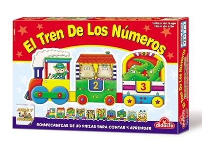 Imagen de Didacta El Tren de los Números