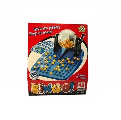 Imagen de Juego de Caja Bingo en caja con bolillero