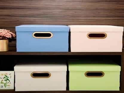 Imagen de Caja organizadora linho 38x29x18.5cm Dello