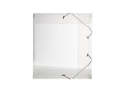 Imagen de Carpeta c/ elástico plástica esquela con lomo 2.5cm Dello