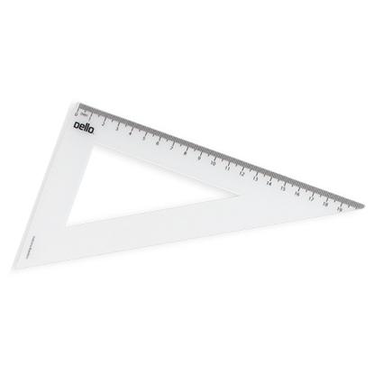 Imagen de Dello escuadra 21x60 cm flexible