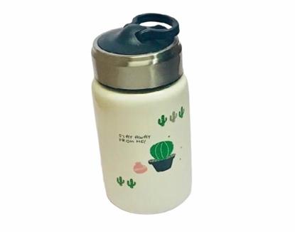 Imagen de Botella de ceramica cierre hermético cactus /72