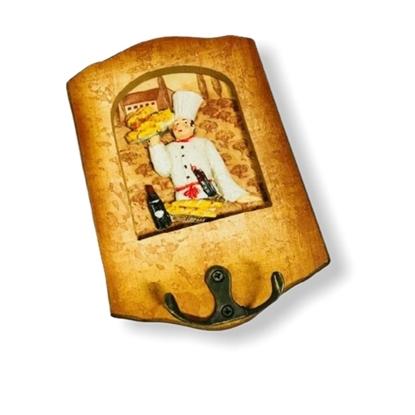 Imagen de Porta llaves madera f6687/120