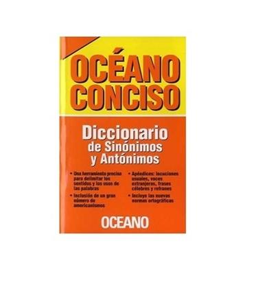 Imagen de Diccionario oceano sinonimos*