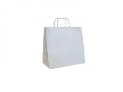 Imagen de Bolsa blanca de papel 45x15x48