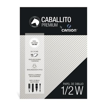 Imagen de Block 1/2 caballito canson 180gr
