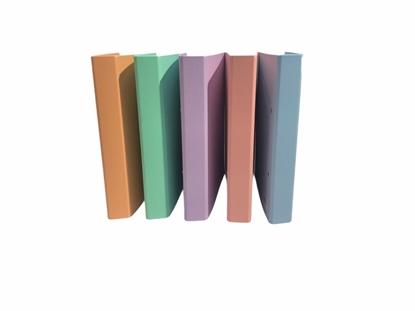 Imagen de Bibliorato plus office 2 anillos a4 colores pasteles
