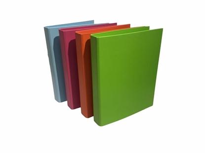 Imagen de Bibliorato plus office 2 anillos a4 colores plastificado