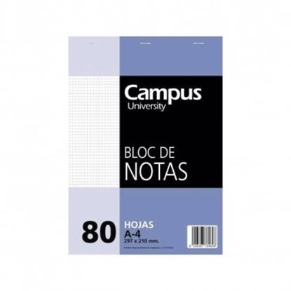 Imagen de Block A4 campus cuadriculado 80hojas