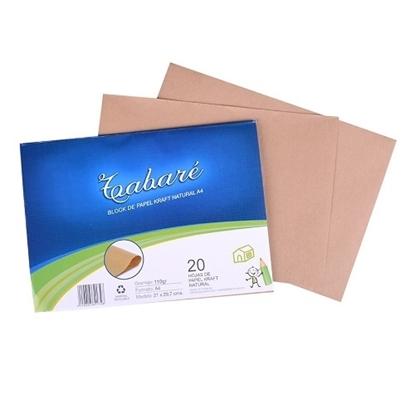 Imagen de Block papel embalaje tabare 110gr 20hojas