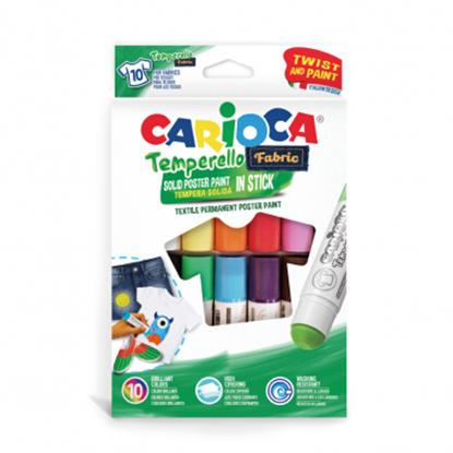 Imagen de Témpera carioca para tela caja 10colores