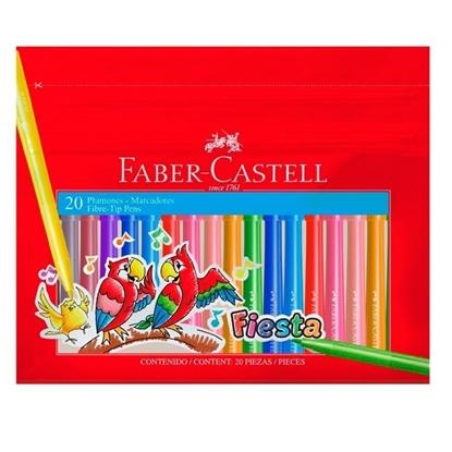 Imagen de Faber Castell Marcador fino x 20