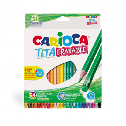 Imagen de Color carioca tita borrable x24