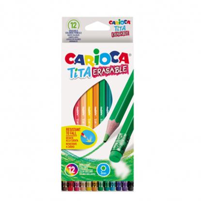 Imagen de Color carioca tita borrable x 12