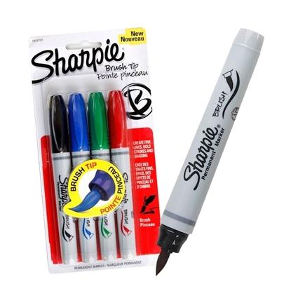 Imagen de Sharpie marcador brush x4 colores básicos