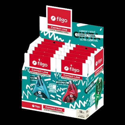 Imagen de Filgo cinta correctora correct 506 6mts - display 12 surtido