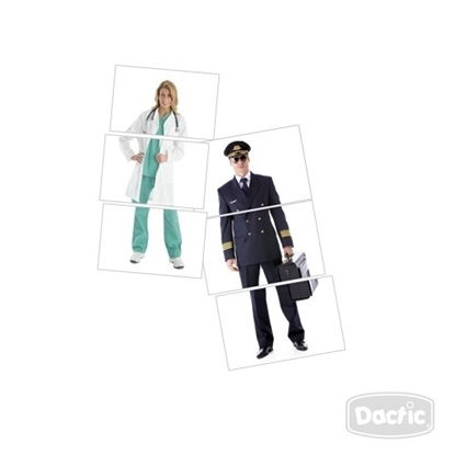 Imagen de Dactic asociación cuerpo profesión cartón
