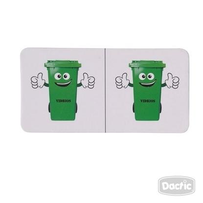 Imagen de Dactic dominó reciclaje 28 piezas