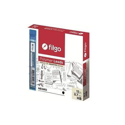 Imagen de Filgo minas grafito polymer leads 0.5 y 0.7