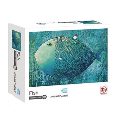 Imagen de Puzzle 1000 piezas pescado             /36