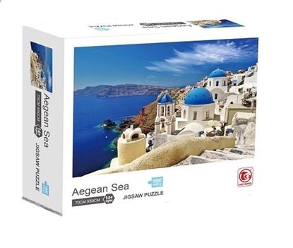 Imagen de Puzzle 1000 piezas mar Egeo     /36