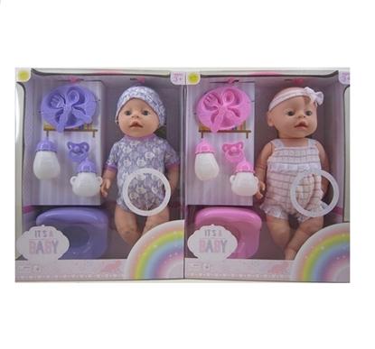 Imagen de Bebé a pila llora +accesorios              /12