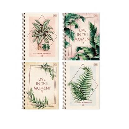 Imagen de Cuaderno tilibra 80h naturalis tapa dura c/espiral 14 x 20