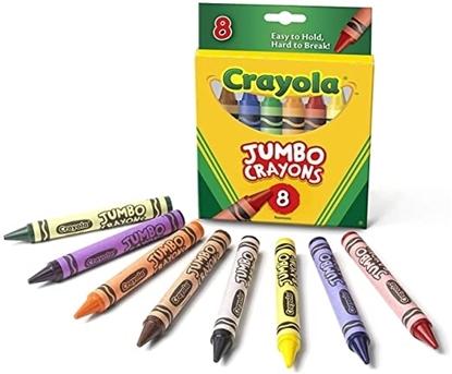 Imagen de Crayolas jumbo 8 unidades