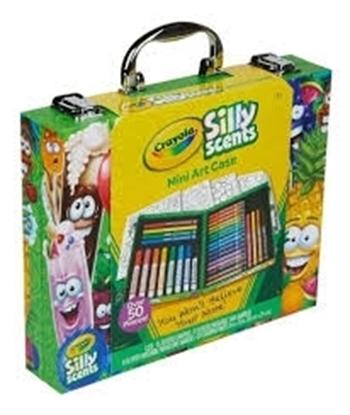 Imagen de Maletin Crayola con accesorios y hojas para colorear