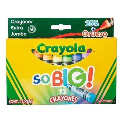 Imagen de Crayola So Big 10.2x1.40cms ESTUCHE 12 UNIDADES
