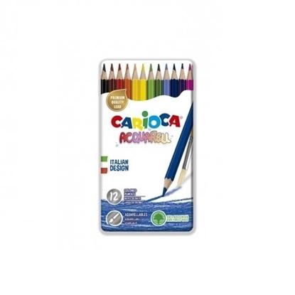 Imagen de Color carioca x12 acuarelable caja en lata