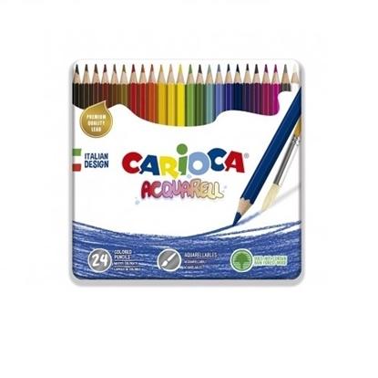 Imagen de Color carioca x24 acuarelable en lata