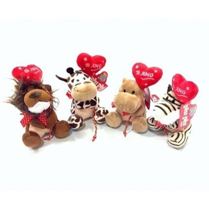 Imagen de Animales con corazon globo 4 modelos