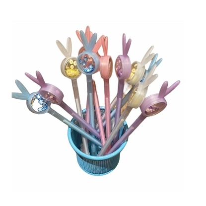Imagen de Bolígrafo conejito con florcita