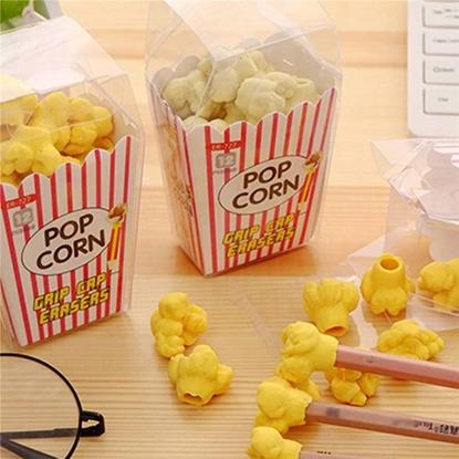 Imagen de Goma de borrar pop corn  para el lápiz x 12