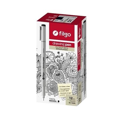 Imagen de Filgo microfibra drawing pen
