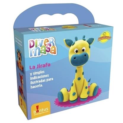 Imagen de Bontus divermasa amigos nuevos - jirafa