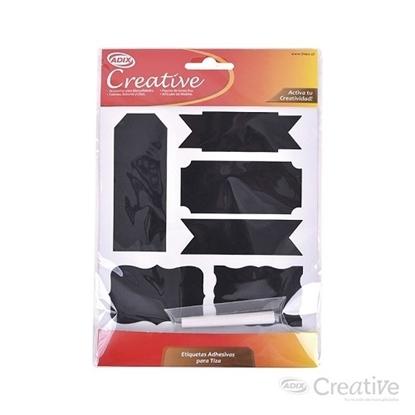 Imagen de Etiqueta adhesiva para tiza creative
