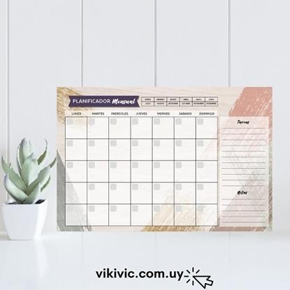 Imagen de Planificador mensual ilustra a4