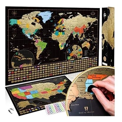 Imagen de Discovery puzzle 3d 1000 piezas mapa mundial mega