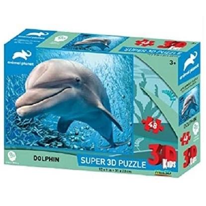 Imagen de Discovery puzzle 3d 48 piezas delfin